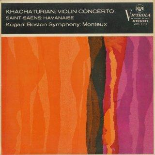 ハチャトゥリャン:ヴァイオリン協奏曲,サン・サーンス:ハバネラOp.83