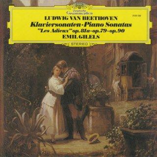 ベートーヴェン:ピアノ・ソナタ25番Op.79,26番Op.81a「告別」,27番Op.90