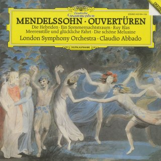 メンデルスゾーン・序曲集/「真夏の夜の夢」「フィンガルの洞窟」「美しいメルジーネの物語」「静かな海と楽しい航海」「吹奏楽のための序曲」「トランペット序曲」