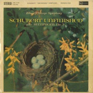 シューベルト:交響曲8番「未完成」,5番