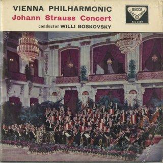 「J.シュトラウス・コンサート」シャンペン・ポルカ,ウィーン気質,ピッツィカート・ポルカ,愛の歌,ウィーンのボンボン,くるまば草序曲,他全9曲