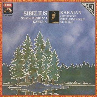 シベリウス:交響曲1番Op.39,「カレリア」組曲Op.11