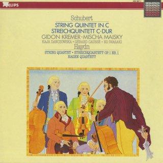 シューベルト:弦楽五重奏曲,ハイドン:弦楽四重奏曲(2曲)