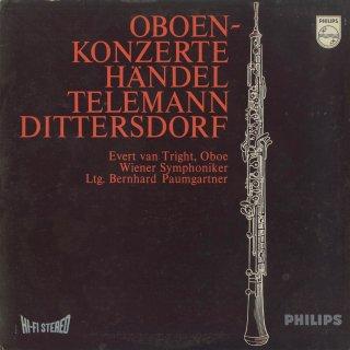 オーボエ協奏曲集/テレマン,ヘンデル(2曲),ディッタースドルフ