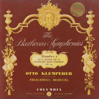 ベートーヴェン:交響曲5番Op.67「運命」,シュテファン王Op.117〜序曲