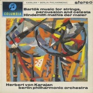 バルトーク:弦楽器,打楽器,チェレスタのための音楽,ヒンデミット:画家マチス