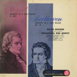 ピアノと管楽のための五重奏曲集/モーツァルト:K.452,ベートーヴェン:Op.16