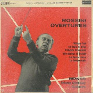 ロッシーニ:序曲集/ウィリアム・テル,絹のはしご,ブルスキーノ氏,セビーリャ,泥棒かささぎ,シンデレラ