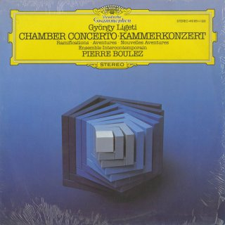 リゲティ:13人の奏者のための室内協奏曲,ラミフィカシヨン,アヴァンチュール,新アヴァンチュール