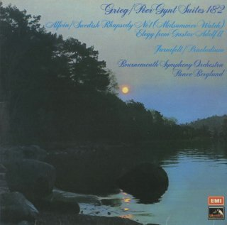 グリーグ:ペール・ギュント第1,2組曲,アルヴェーン:スウェーデン狂詩曲1番Op.19,ヤルネフェルト:前奏曲 他