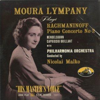 ラフマニノフ:ピアノ協奏曲2番Op.18,メンデルスゾーン:華麗なカプリッチョOp.22