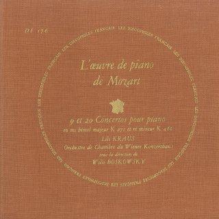 モーツァルト:ピアノ協奏曲9番K.271,20番K.466