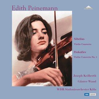 【新作LPレコード】パイネマンのシベリウス&プロコフィエフ/ヴァイオリン協奏曲集 1967年&1975年 <完全限定生産盤> WEITLP 005/06 2LP