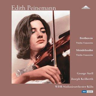 【新作LPレコード】パイネマンのベートーヴェン&メンデルスゾーン/ヴァイオリン協奏曲集 1964年&1960年 <完全限定生産盤> WEITLP 003/04 2LP
