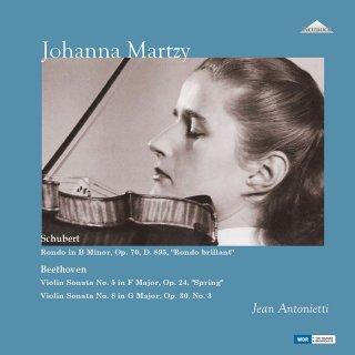 【新作LPレコード】ヨハンナ・マルツィのベートーヴェン/ヴァイオリンソナタ第5番「春」ほか 未発表スタジオ録音集 <完全限定生産盤> WEITLP001/002 2LP