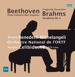 【新作LPレコード】ミケランジェリ&チェリビダッケのベートーヴェン/ピアノ協奏曲第5番「皇帝」ほか 1974年 <完全限定生産> ALTLP117/118 2LP