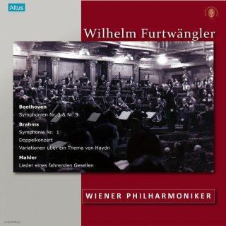 【新作LPレコード】フルトヴェングラー&ウィーン・フィル戦後ライヴ集1952〜53年 ALTLP035 7LP