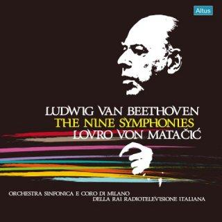 【新作LPレコード】マタチッチのベートーヴェン/交響曲全集 1962年イタリア放送協会録音 モノラル <限定プレス> ALTLP075/084 10LP