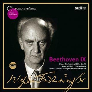 【新作LPレコード】フルトヴェングラーのベートーヴェン/交響曲第9番 〜1954年ルツェルン・ライヴ〜 モノラル KKC1052/53 2LP