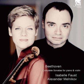 【新作LPレコード】ファウスト& メルニコフのベートーヴェン/「ヴァイオリンソナタ」全曲 <初回完全限定生産> HMLP0001/06 6LP