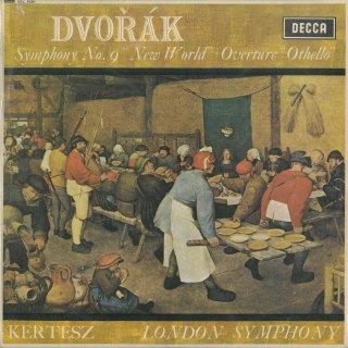 ドヴォルザーク:交響曲9番Op.95「新世界より」,序曲「オセロ」Op.93