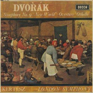 ドヴォルザーク:交響曲9番Op.95「新世界」,序曲「オセロー」Op.93
