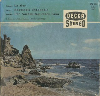 ドビュッシー:海,牧神の午後への前奏曲,ラヴェル:スペイン狂詩曲