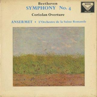 ベートーヴェン:交響曲4番Op.60,コリオラン序曲Op.62
