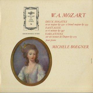 モーツァルト:ピアノ・ソナタK.330,K.333,変奏曲K.573,幻想曲K.397