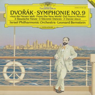 ドヴォルザーク:交響曲9番Op.95「新世界」,スラヴ舞曲集Op.46〜1,3,8番