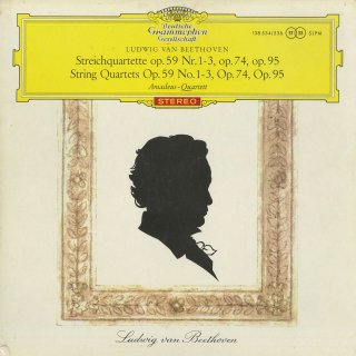 ベートーヴェン:弦楽四重奏曲7〜11番/Op.59,74,95