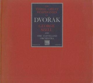 ドヴォルザーク:交響曲7番Op.70,8番Op.88,9番Op.95「新世界より」