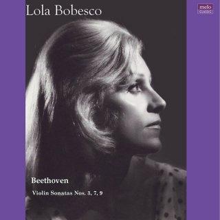 【新作LPレコード】ローラ・ボベスコ ベートーヴェン/未発表ヴァイオリン・ソナタ集<完全限定生産盤>MELOLP003/004 モノラル 2LP