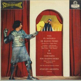 ファリャ:ペドロ親方の人形芝居,チェンバロ協奏曲