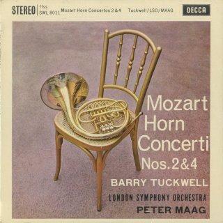 モーツァルト:ホルン協奏曲2番K.417,4番K.495