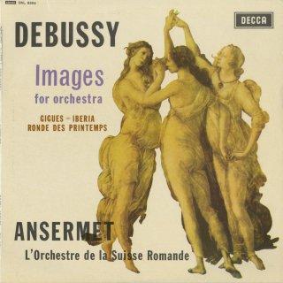ドビュッシー:管弦楽のための映像