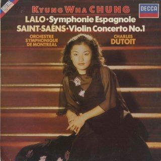 ヴァイオリン協奏曲集/ラロ:スペイン交響曲,サン・サーンス:1番Op.20