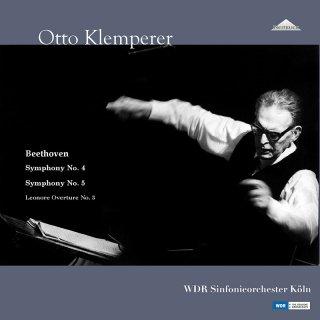 【新作LPレコード】クレンペラーのベートーヴェン 交響曲第4番&第5番「運命」ほか<完全限定生産>WEITLP007/008  STEREO 2LP