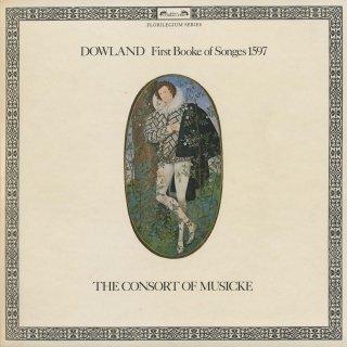 ダウランド:歌曲集第1集(1597年)