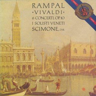 ヴィヴァルディ:6つの協奏曲Op.10