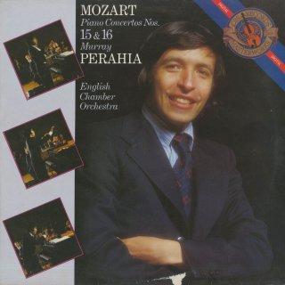 モーツァルト:ピアノ協奏曲15番K.450,16番K.451
