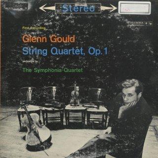 グールド:弦楽四重奏曲 Op.1