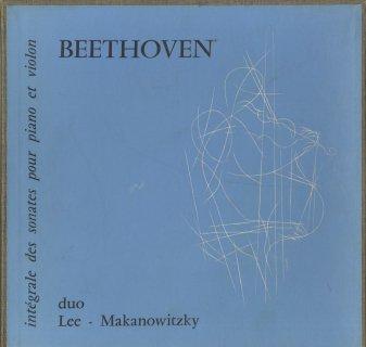 ベートーヴェン:ヴァイオリン・ソナタ集(4・5・8番以外)