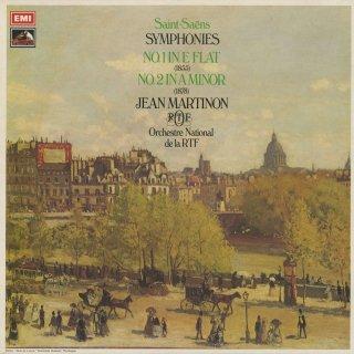サン・サーンス:交響曲1番Op.2,2番Op.55