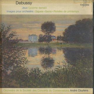 ドビュッシー:バレエ音楽「遊戯」,管弦楽のための映像(全3曲)