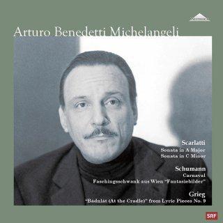 【新作LPレコード】ミケランジェリのベルン・リサイタル1 1972年ベルン放送スタジオ6(ライヴ録音)<完全限定生産盤>WEITLP009/010 ステレオ 2LP