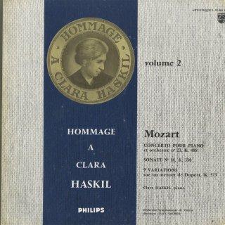 モーツァルト:ピアノ協奏曲23番K.488,ピアノ・ソナタ10番K.330,変奏曲K.573