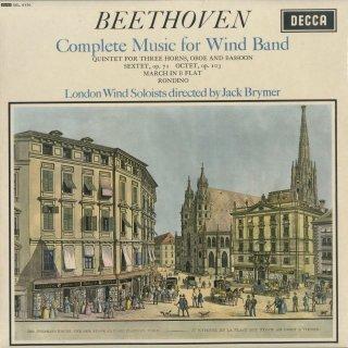 「ベートーヴェン:木管楽曲全集」五重奏曲,六重奏曲Op.71,八重奏曲Op.103,行進曲,ロンディーノ