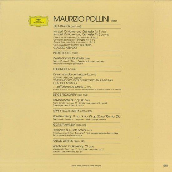20世紀のピアノ曲集」バルトーク...
