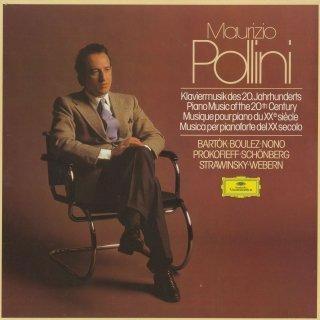 「20世紀のピアノ曲集」バルトーク:ピアノ協奏曲1,2番,ブーレーズ:第2ソナタ,ノーノ,プロコフィエフ,シェーンベルク,ストラヴィンスキー,ウェーベルン